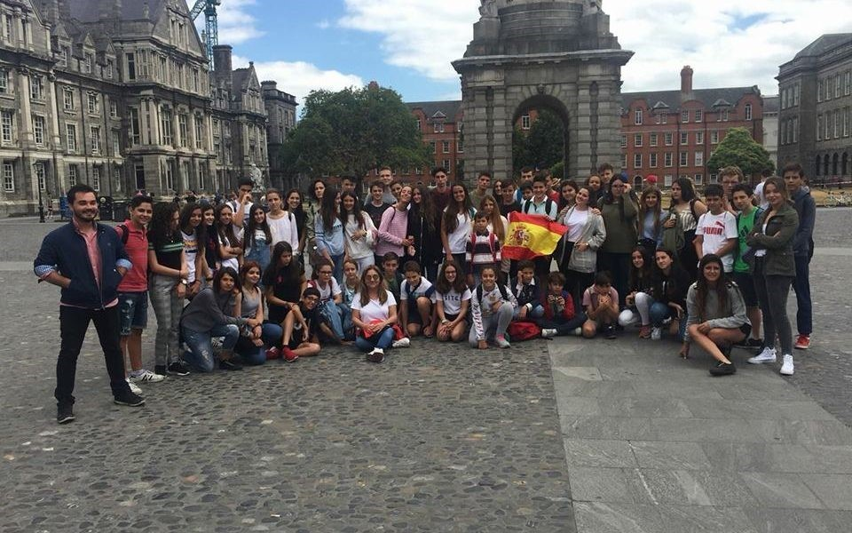 Trimestres escolar en Irlanda